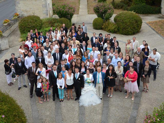 Le mariage de Damien et Anastasia à Champniers, Charente 77