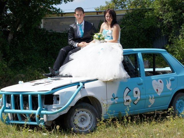 Le mariage de Damien et Anastasia à Champniers, Charente 81