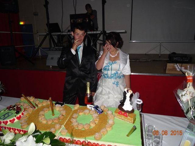 Le mariage de Damien et Anastasia à Champniers, Charente 225