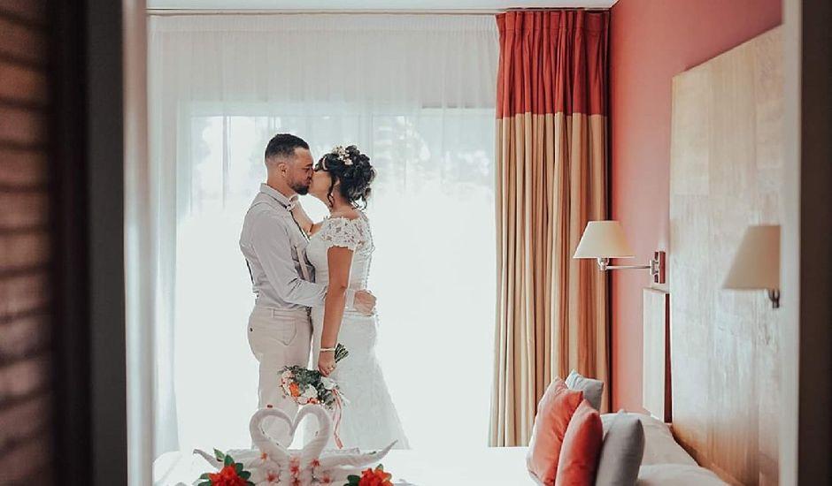 Le mariage de Vincent et Anaïs à Saint-Gilles les Bains, La Réunion