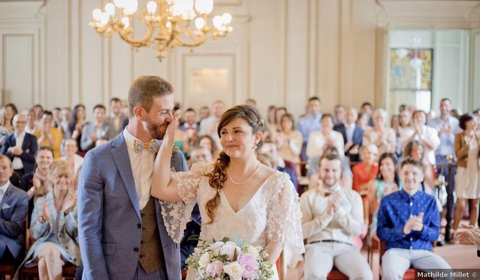 Le mariage de Thomas et Johanna à Lons-le-Saunier, Jura