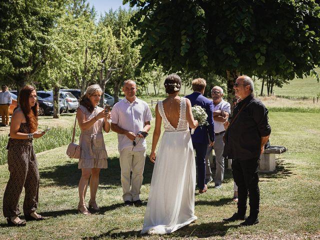 Le mariage de Alexis et Alvina à Bergerac, Dordogne 44