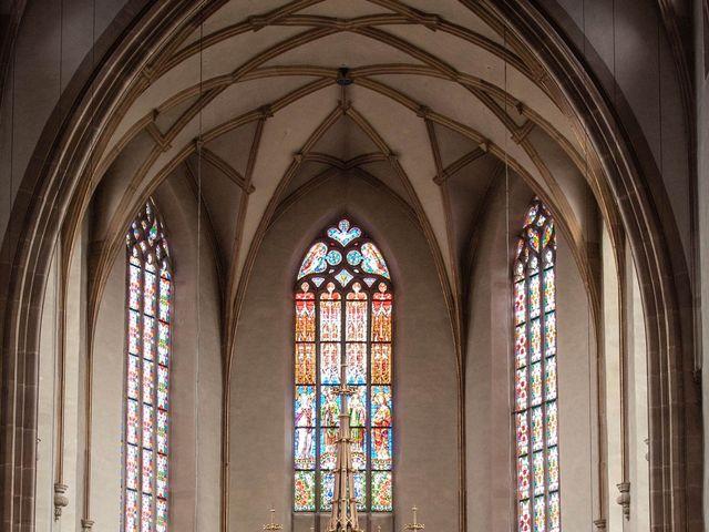 Le mariage de Pierre et Laure à Molsheim, Bas Rhin 14