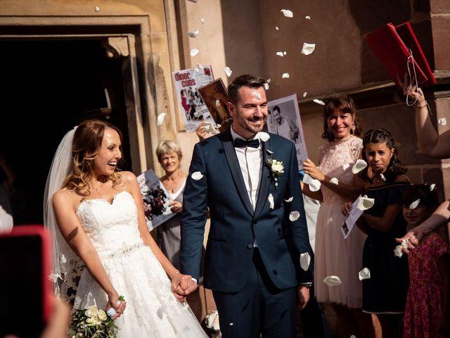 Le mariage de Pierre et Laure à Molsheim, Bas Rhin 17