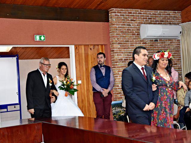Le mariage de Hinano et Freddy à Arsac, Gironde 3