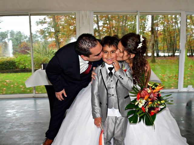 Le mariage de Hinano et Freddy à Arsac, Gironde 5