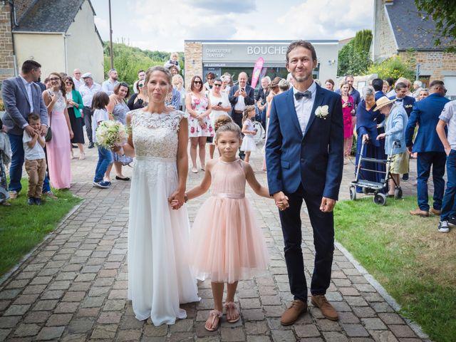 Le mariage de Jimmy et Lorinda à Pont-l'Évêque, Calvados 1