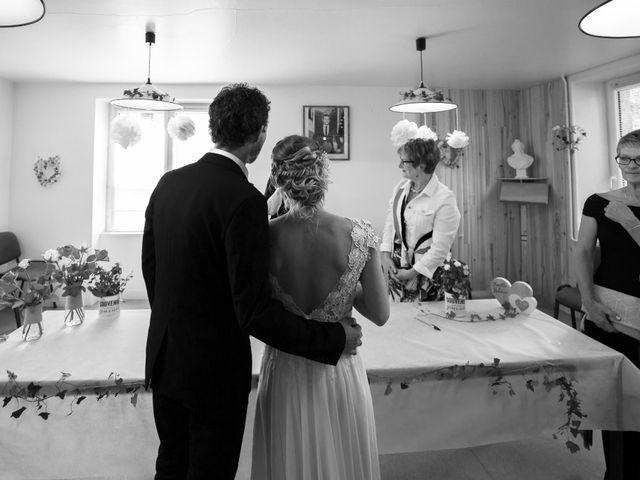 Le mariage de Jimmy et Lorinda à Pont-l'Évêque, Calvados 6