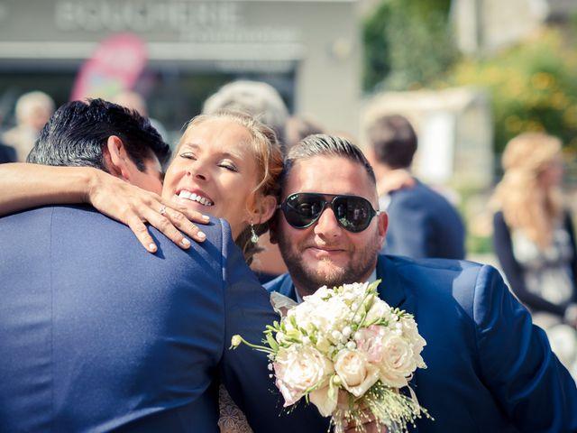 Le mariage de Jimmy et Lorinda à Pont-l'Évêque, Calvados 14