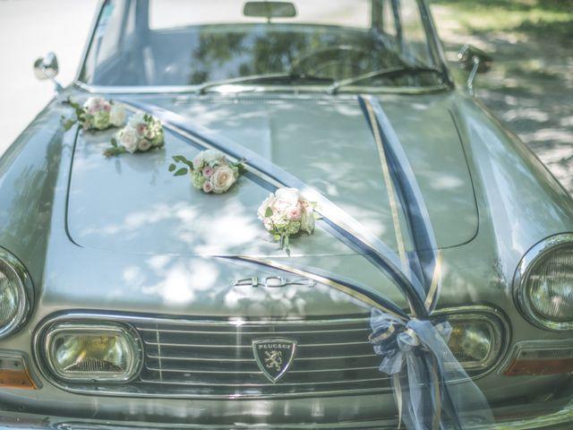 Le mariage de Joffrey et Elody à Labeaume, Ardèche 8