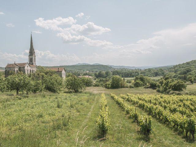 Le mariage de Joffrey et Elody à Labeaume, Ardèche 22