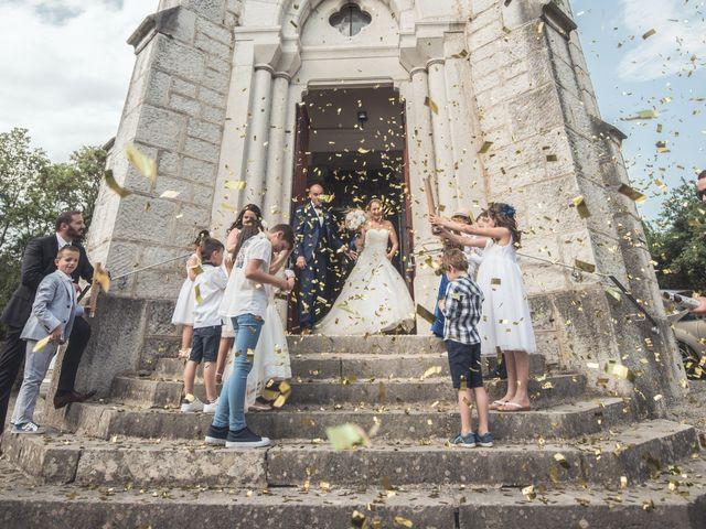 Le mariage de Joffrey et Elody à Labeaume, Ardèche 26