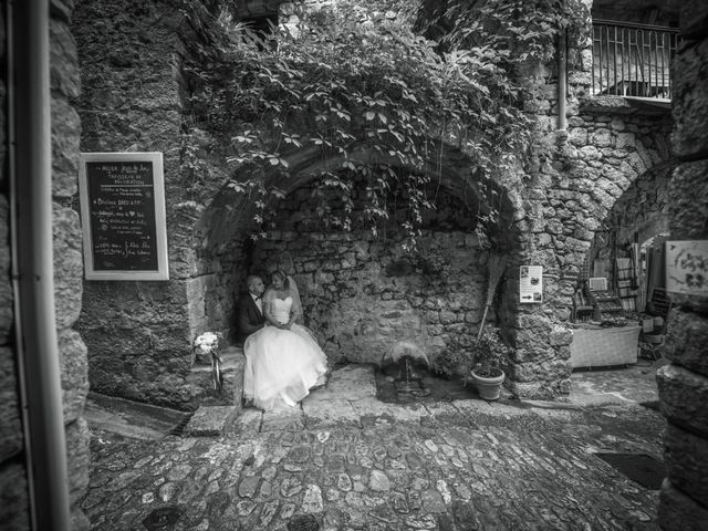 Le mariage de Joffrey et Elody à Labeaume, Ardèche 31
