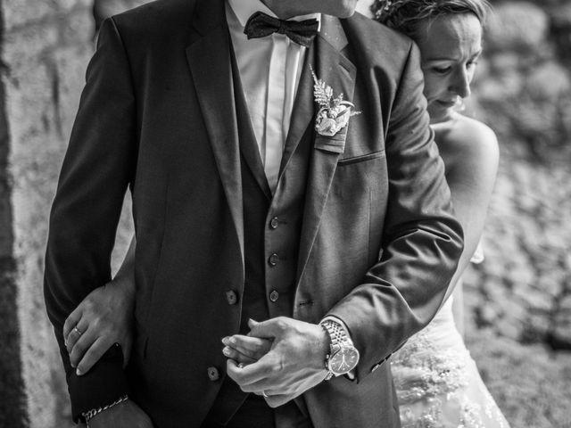 Le mariage de Joffrey et Elody à Labeaume, Ardèche 32