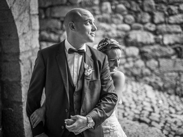 Le mariage de Joffrey et Elody à Labeaume, Ardèche 33