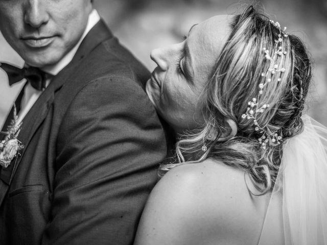 Le mariage de Joffrey et Elody à Labeaume, Ardèche 34