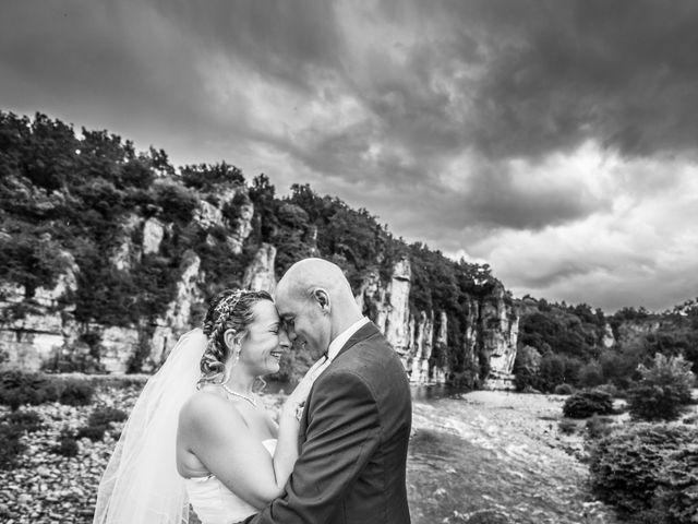 Le mariage de Joffrey et Elody à Labeaume, Ardèche 38