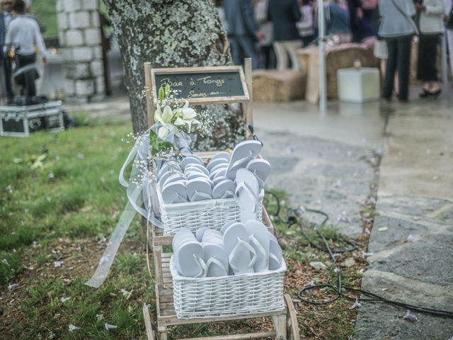 Le mariage de Joffrey et Elody à Labeaume, Ardèche 45