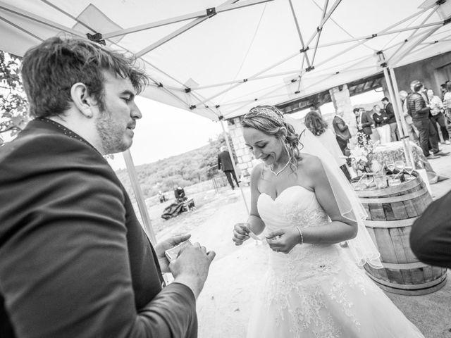 Le mariage de Joffrey et Elody à Labeaume, Ardèche 49