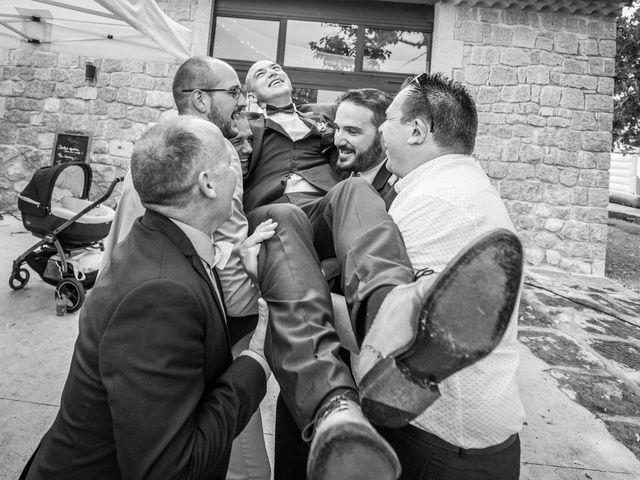 Le mariage de Joffrey et Elody à Labeaume, Ardèche 50