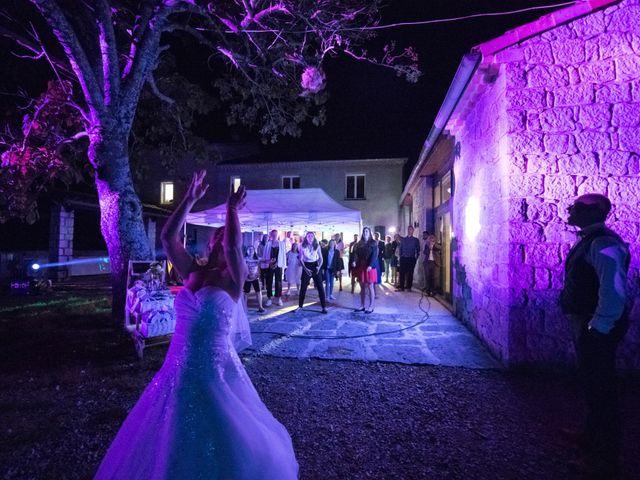 Le mariage de Joffrey et Elody à Labeaume, Ardèche 62