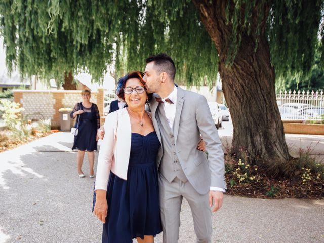 Le mariage de Thé et Jean à Barberaz, Savoie 7