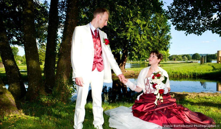 Le mariage de Gabriel et Cyrielle à Vendresse, Ardennes