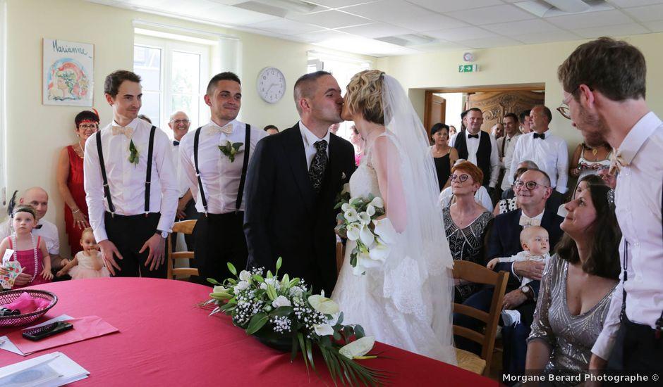 Le mariage de Marine et Florian à Berville-sur-Mer, Eure