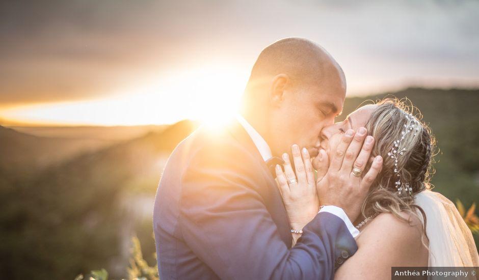 Le mariage de Joffrey et Elody à Labeaume, Ardèche