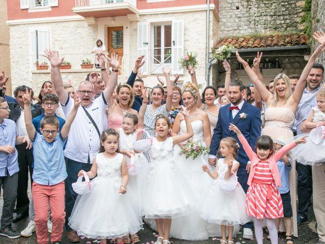 Le mariage de Nicolas et Noélie à Saint-Vallier-de-Thiey, Alpes-Maritimes 56