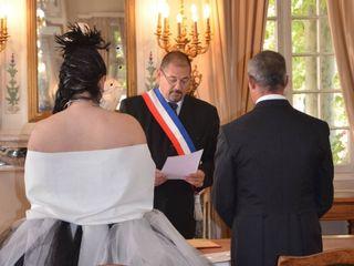 Le mariage de Christelle et Jean Marie