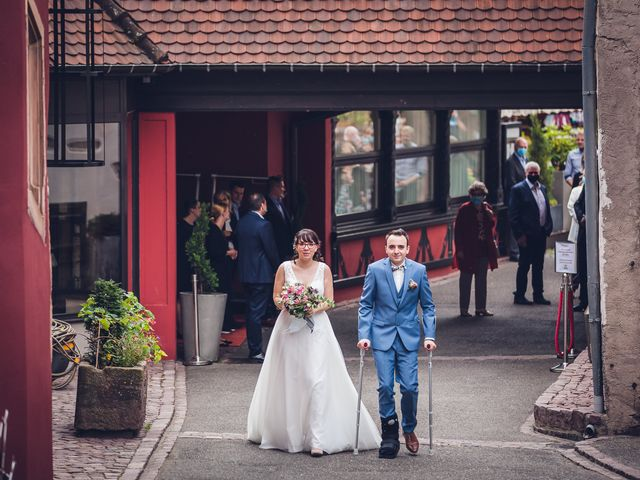 Le mariage de Sébastien et Adeline à Kaysersberg, Haut Rhin 29