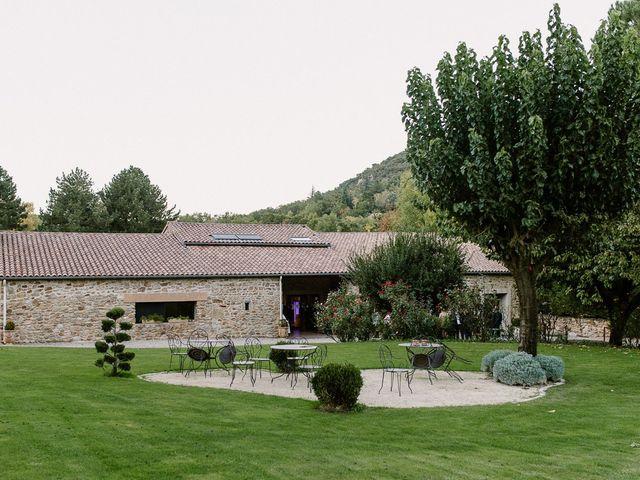 Le mariage de Julien et Laurie à Saint-Romain-de-Lerps, Ardèche 61