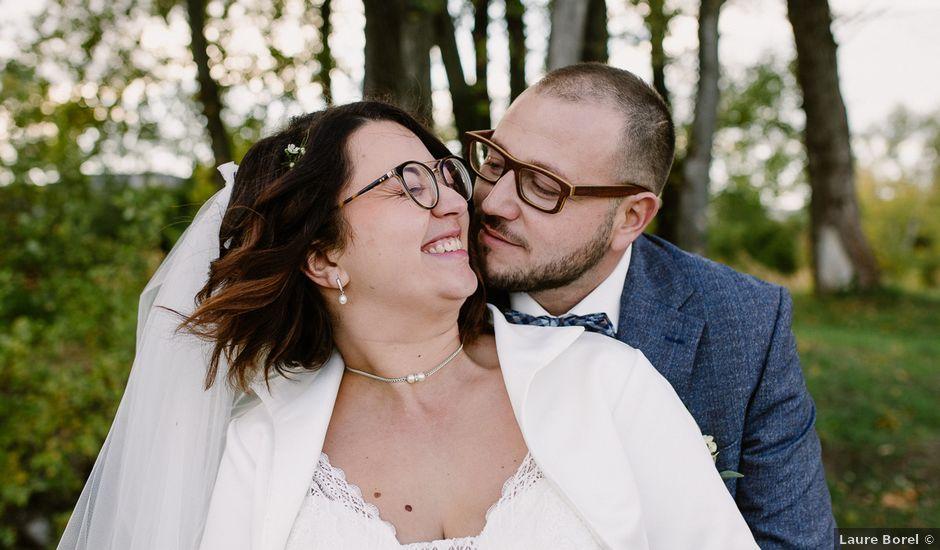 Le mariage de Julien et Laurie à Saint-Romain-de-Lerps, Ardèche