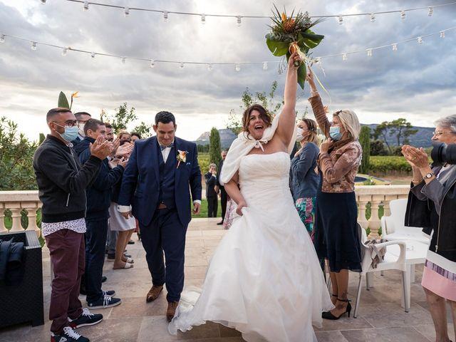 Le mariage de Vincent et Delphine à Saint-Maximin-la-Sainte-Baume, Var 41