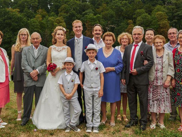 Le mariage de Frédéric et Véronique à Tuffé, Sarthe 83