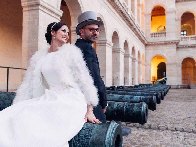 Le mariage de Benjamin et Anne-Cécile à Paris, Paris 1