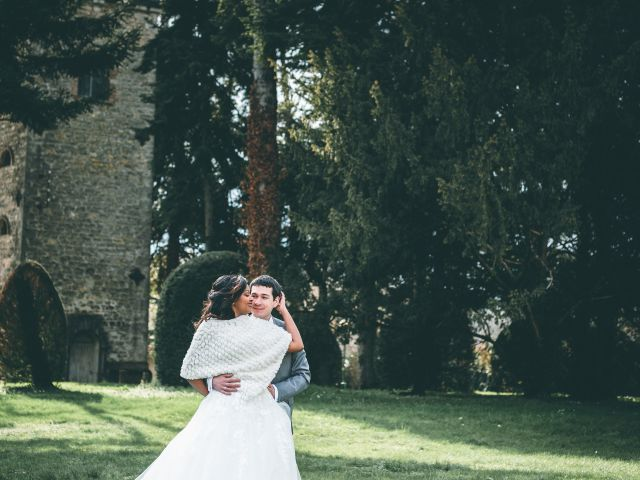 Le mariage de Timothée et Marie à Villebois, Ain 28