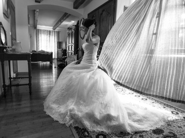 Le mariage de Frédéric  et Isabelle à Le Vigan, Gard 1
