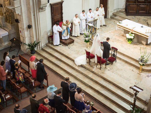 Le mariage de Frédéric  et Isabelle à Le Vigan, Gard 13