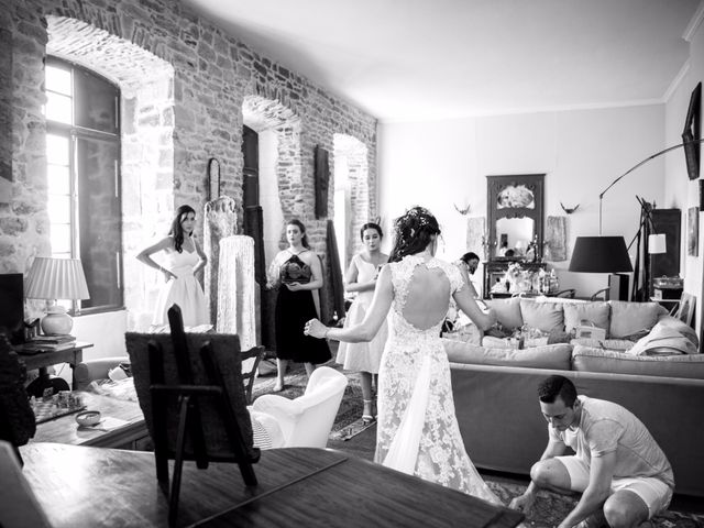 Le mariage de Nicolas et Sonya à Vénéjan, Gard 9