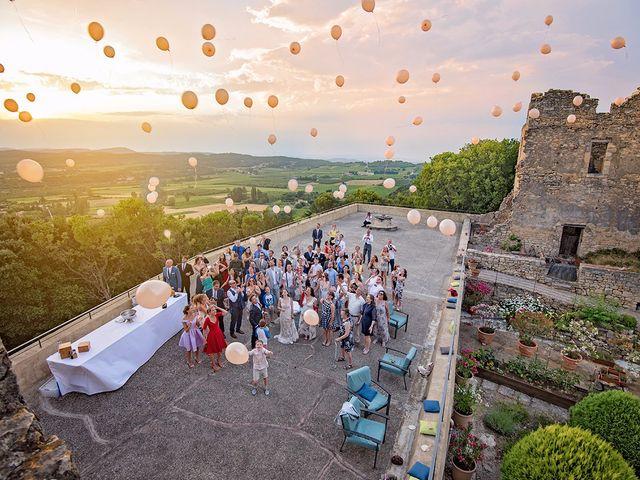 Le mariage de Nicolas et Sonya à Vénéjan, Gard 2