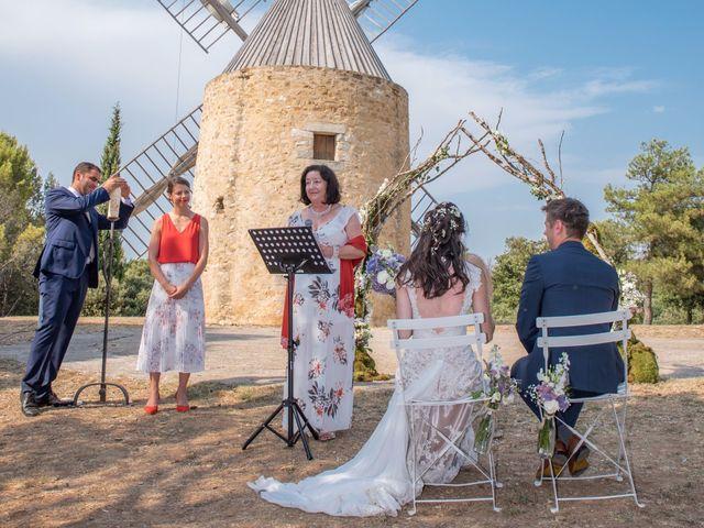 Le mariage de Nicolas et Sonya à Vénéjan, Gard 16