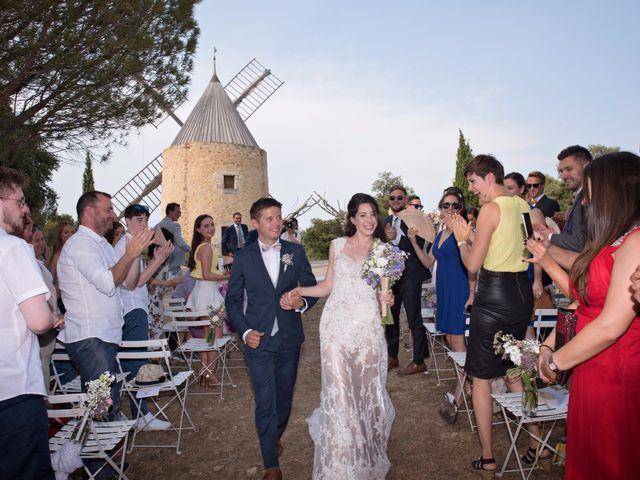 Le mariage de Nicolas et Sonya à Vénéjan, Gard 25