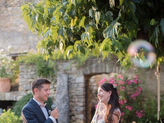 Le mariage de Nicolas et Sonya à Vénéjan, Gard 38