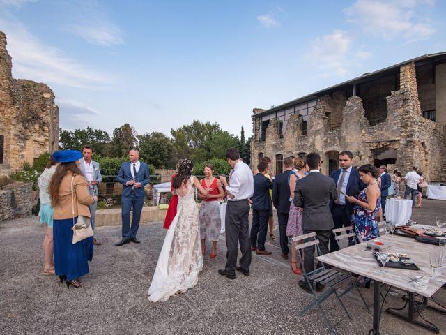 Le mariage de Nicolas et Sonya à Vénéjan, Gard 44