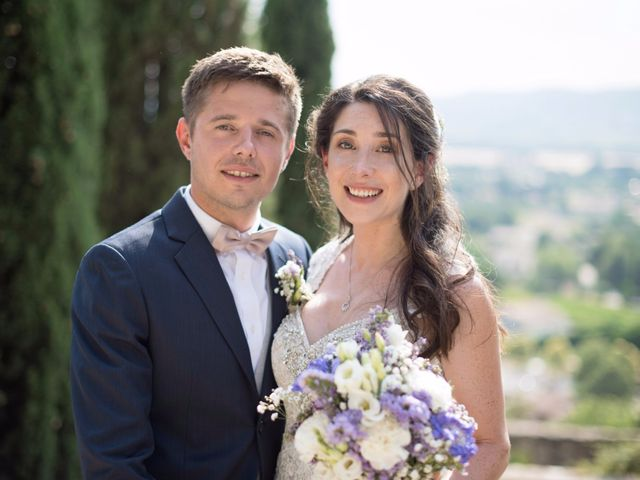 Le mariage de Nicolas et Sonya à Vénéjan, Gard 30