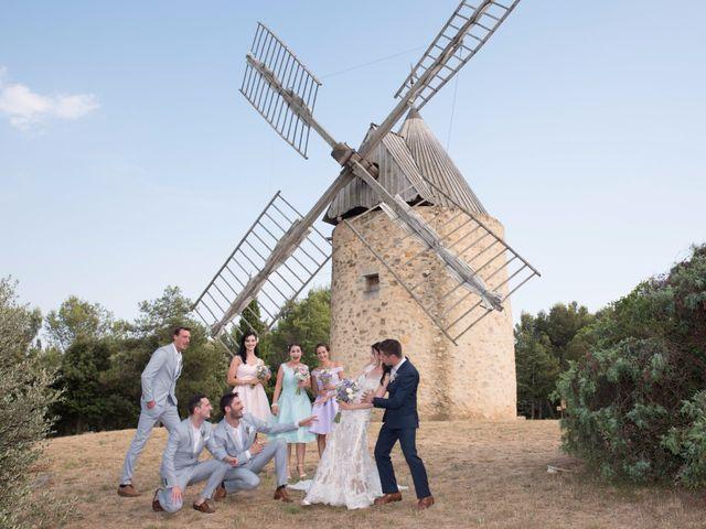 Le mariage de Nicolas et Sonya à Vénéjan, Gard 33