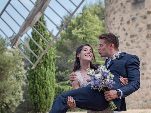 Le mariage de Nicolas et Sonya à Vénéjan, Gard 35