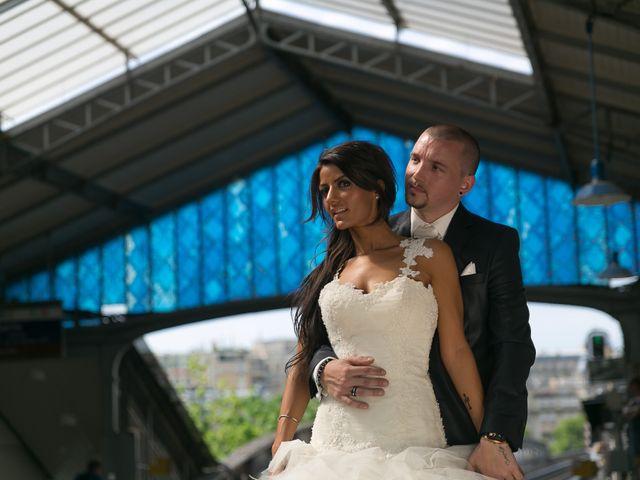 Le mariage de Adelio et Asline à Versailles, Yvelines 21